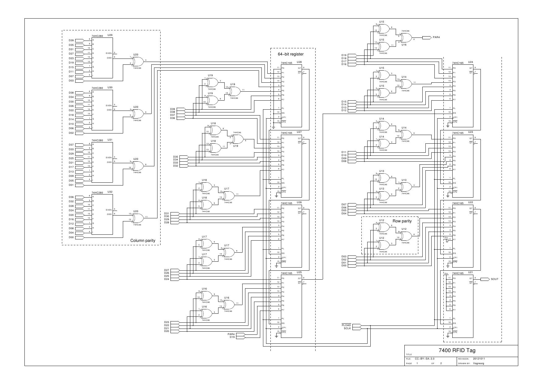 Vagrearg Rf74xxid Multifunction Passive 7400 Rfid Tag